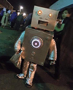 Blayze the Robot Homemade Costume