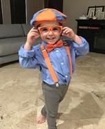 Blippi Homemade Costume