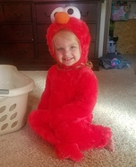 Blonde Elmo Costume