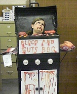 Blood and Guts BBQ Homemade Costume