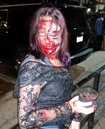 Bloody Bride Homemade Costume