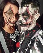 Bloody Clowns Homemade Costume