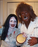 Bloody Mary and the Wolfman Homemade Costumes