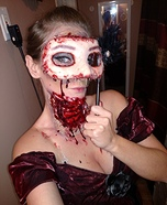 Bloody Masquerade Ghoul Homemade Costume