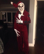 Blown up Jack Skellington Homemade Costume
