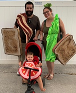BLT Family Homemade Costume