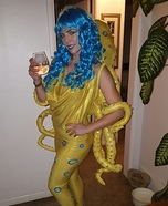 Blue-ringed Octopus Homemade Costume