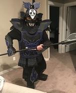Blue Crow Samurai Homemade Costume