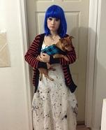 Blue Doll Homemade Costume