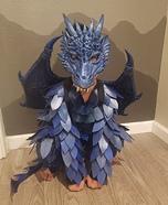 Blue Dragon Homemade Costume