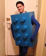 Blue Lego Costume
