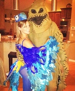Blue Macaw and Oogie Boogie Homemade Costumes
