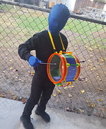 Blue Man Homemade Costume