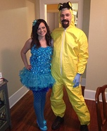 Blue Meth and Walter White Homemade Costume