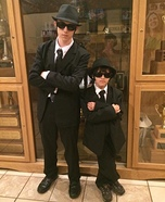 Blues Brothers Homemade Costume
