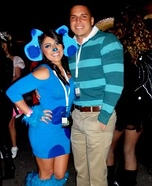 Couples Halloween costume idea: Blue's Clues Costume