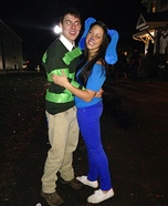 Blue's Clues Homemade Couples Costume