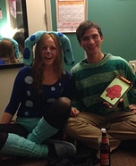 Blues Clues Homemade Costume