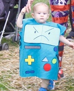 BMO Homemade Costume