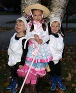 Bo Peep and Her Sheep Homemade Costume