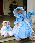 Bo Peep and her Sheepie Homemade Costume
