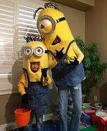 Bob & Stuart Minions Homemade Costume