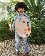 Bob Ross Homemade Costume