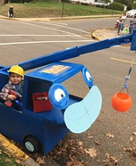 Bob the Builder and his Buddy Lofty Homemade Costume