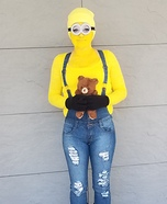 Bob the Minion Homemade Costume