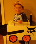 Homemade Bobcat Costume