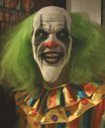 Evil Clown Scary Halloween Costume