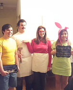 Bob's Burgers Homemade Costume