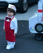 Bodie the Ice Cream Man Homemade Costume