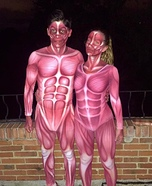 Bodies Couple Homemade Costume