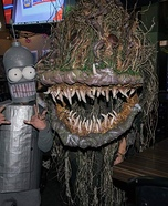 Bog Swamp Monster Homemade Costume