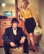 Bonnie and Clyde Couple Costumes