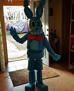 Bonnie Bunny Homemade Costume