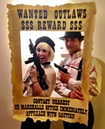 Coolest couples Halloween costumes - Bonnie & Clyde Costume
