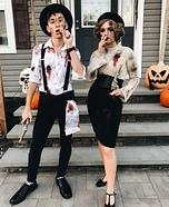 Bonnie & Clyde Homemade Costume
