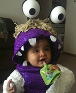Monsters Inc. Boo Baby Costume