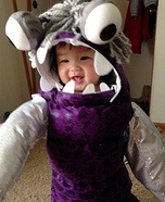 DIY Monsters Inc. Boo Baby Costume