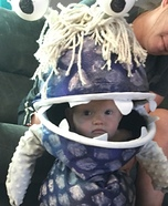 Boo from Monsters Inc Homemade Costume