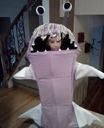 Boo Monsters, Inc. Homemade Costume