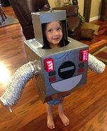 DIY Boogie Bot Costume