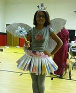 Book Fairy Homemade Costume