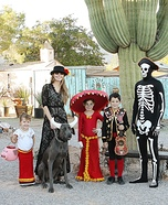 Book of Life Family Homemade Costume