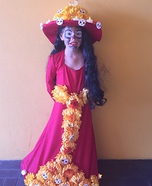 Book of Life La Muerte Homemade Costume