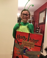 Bookworm Homemade Costume