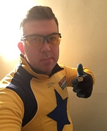Booster Gold Homemade Costume