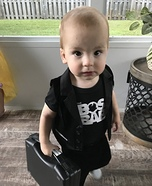 Boss Baby Homemade Costume